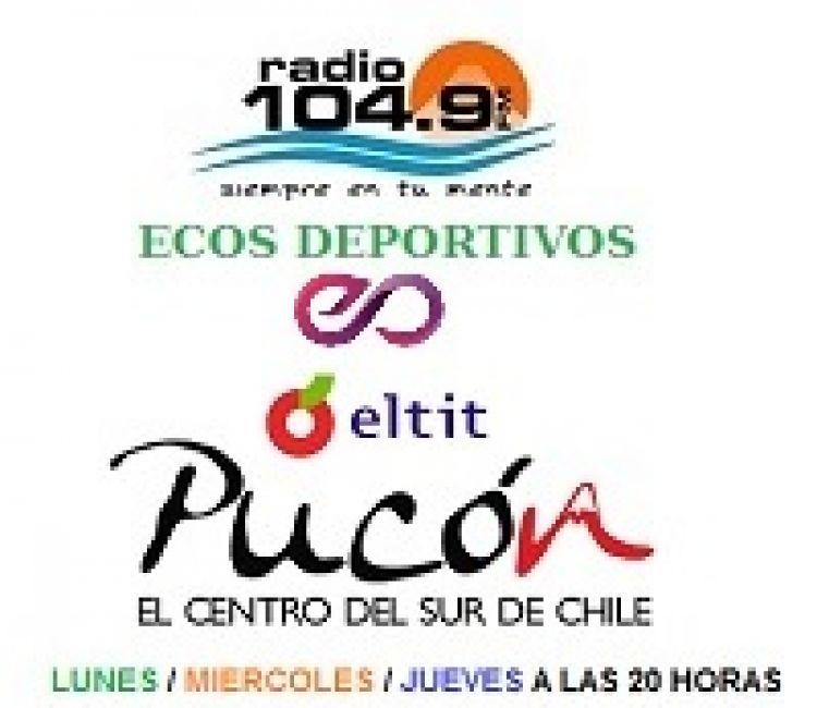 Ecos Deportivos en Radio 104.9 FM de Pucòn